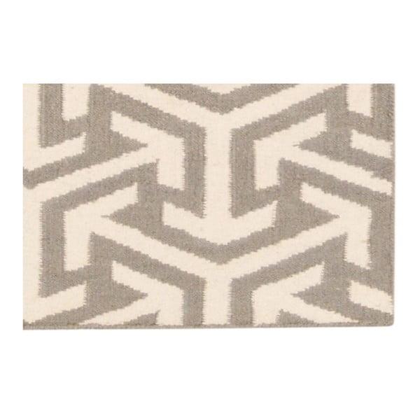 Ručne tkaný koberec Bakero Kilim 103 Grey, 120x180 cm