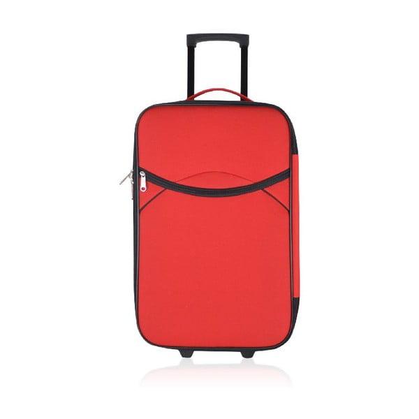 Set 3 cestovných kufrov Classic Red