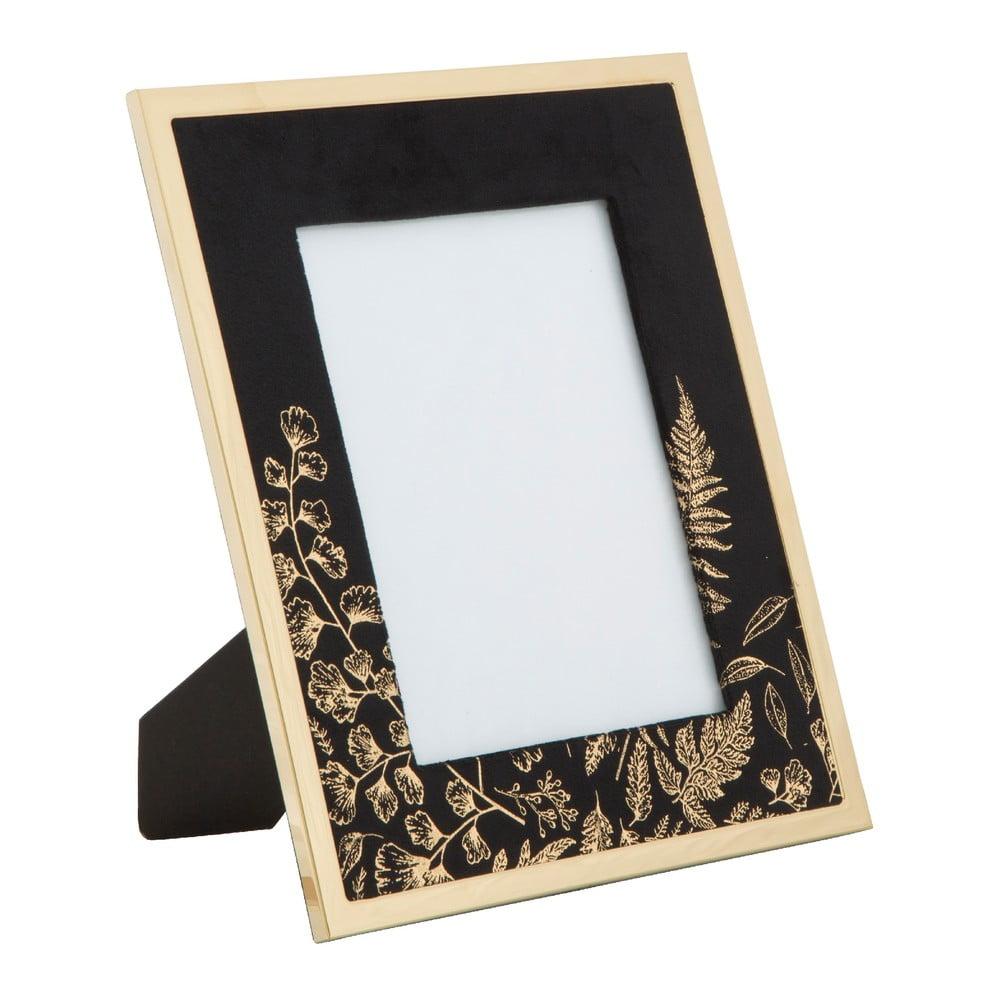 Čierny stolový fotorámik Mauro Ferretti Glam, 15 × 20 cm