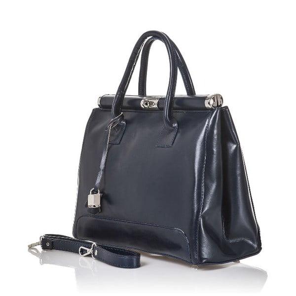 Kožená kabelka Gelso, tmavo sivá