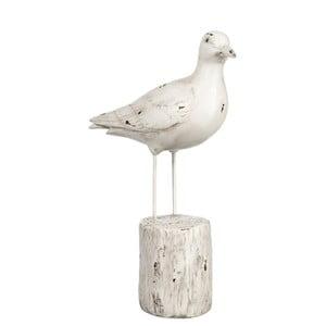 Dekorácia Bird on Trunk, 21x8x29 cm