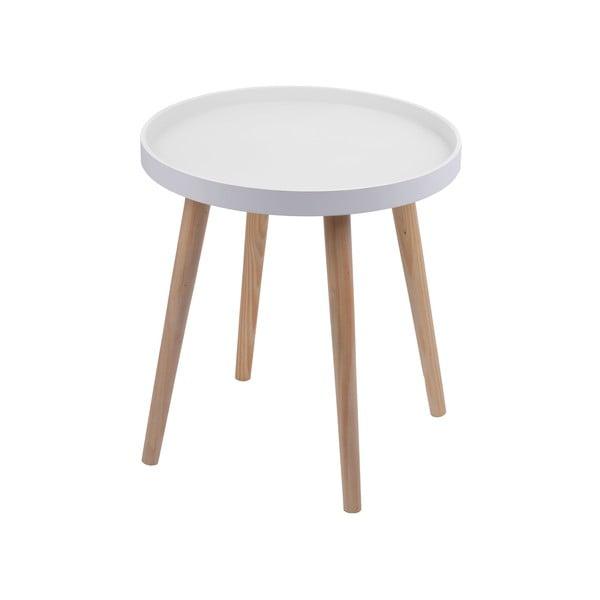 Stolík Simple Table 48 cm, biely