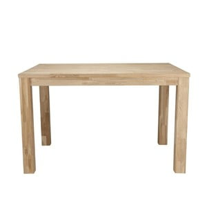 Drevený jedálenský stôl DeEekhoorn Largo Untreated, 85x150cm