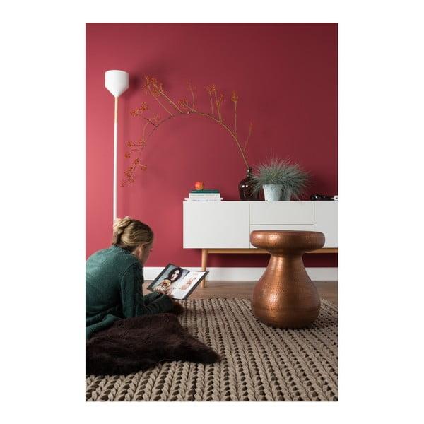 Stojacia lampa v medenej farbe Zuiver Bow