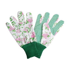 Biele záhradnícke rukavice Esschert Design Plaque
