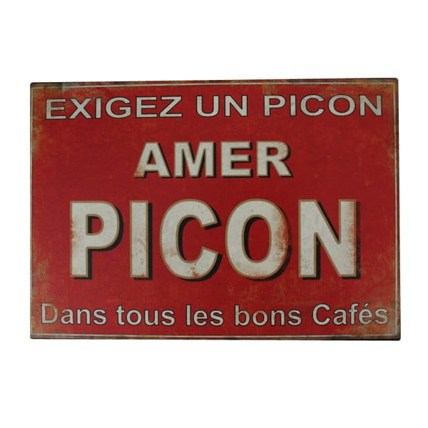 Kovová ceduľa Antic Line Amer Picon