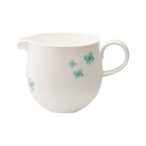 Sada nádobky na mlieko a cukorničky z kostného porcelánu Petal
