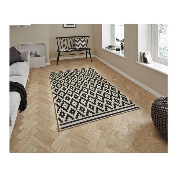 Čierny koberec Think Rugs Cottage 120x170cm