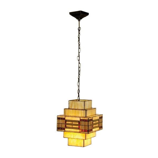 Tiffany závesné svetlo Cubic