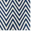 Vlnený koberec Zig Zag Dark Blue, 180x120 cm
