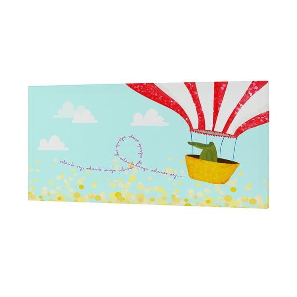 Nástenný obrázok Ballon Ride, 27x54 cm