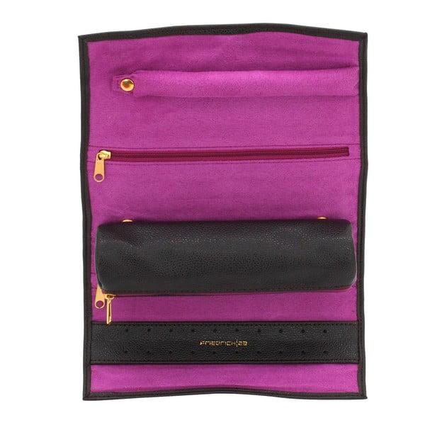 Organizér Ascot Roll Dark Brown, 20x8x6 cm
