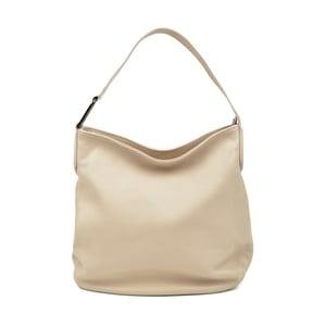 Béžová kožená kabelka Isabella Rhea Gerrie
