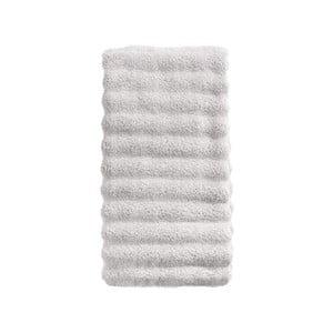 Svetlosivý bavlnený uterák Zone Prime, 50 × 100 cm