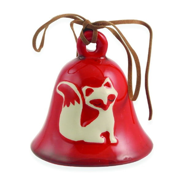 Set 12 vianočných zvončekov Fox
