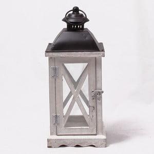 Drevený lampáš Little House