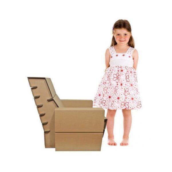 Kartónové kresielko Seater Junior