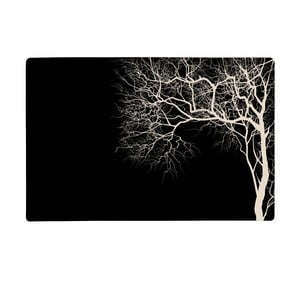Čierne prestieranie KJ Collection Galzone, 28,5 x 44 cm