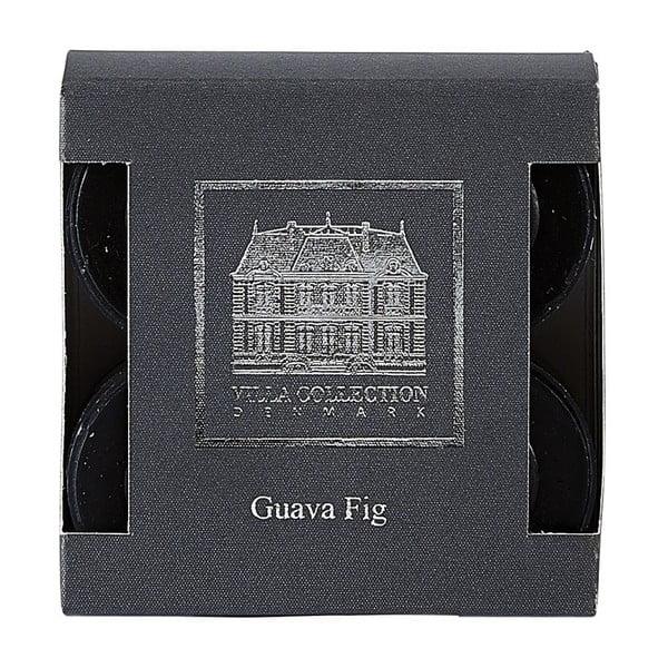 Sada 8 čajových sviečok s vôňou guavy a figy Villa Collection
