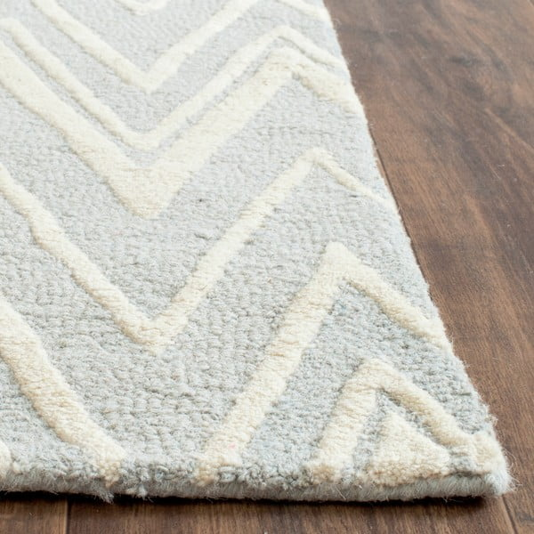 Vlnený koberec Luca Light Blue, 121x182 cm