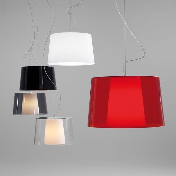 Transparentné  závesné svetlo Pedrali L001S/BA