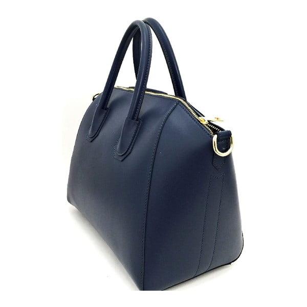 Kožená kabelka Tosca Dark Blue