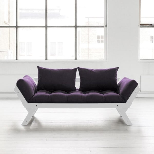 Pohovka Karup Bebop Cool Grey/Purple