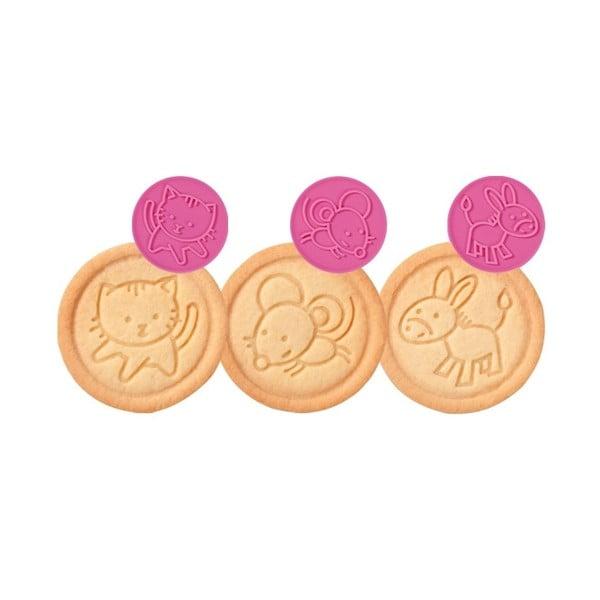Pečiatka na sušienky Tescoma Delícia Zvieratká, 6 motívov