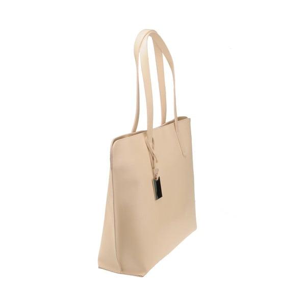 Kožená kabelka Vega, pudrová