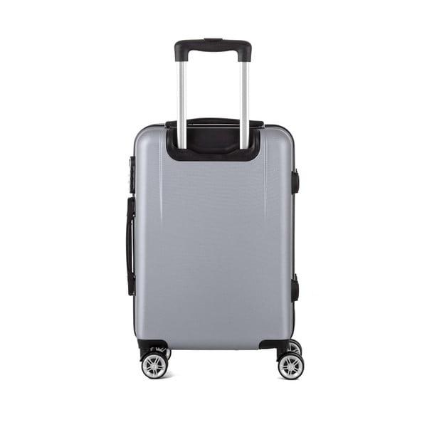 Sada 3 sivých cestovných kufrov Berenice Wings