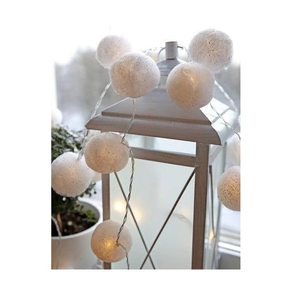Svietiaca dekorácia Cotton Balls