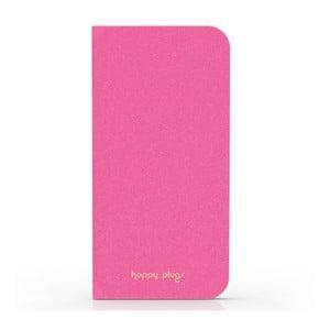 Preklápací obal Happy Plugs na iPhone 6, ružový