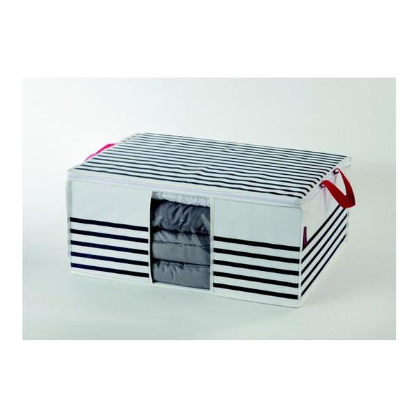 Úložná škatuľa na oblečenie Compactor Stripes