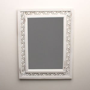 Zrkadlo White Days, 49x67 cm