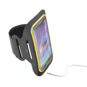 Športové soft puzdro CellularLine XL, čierne