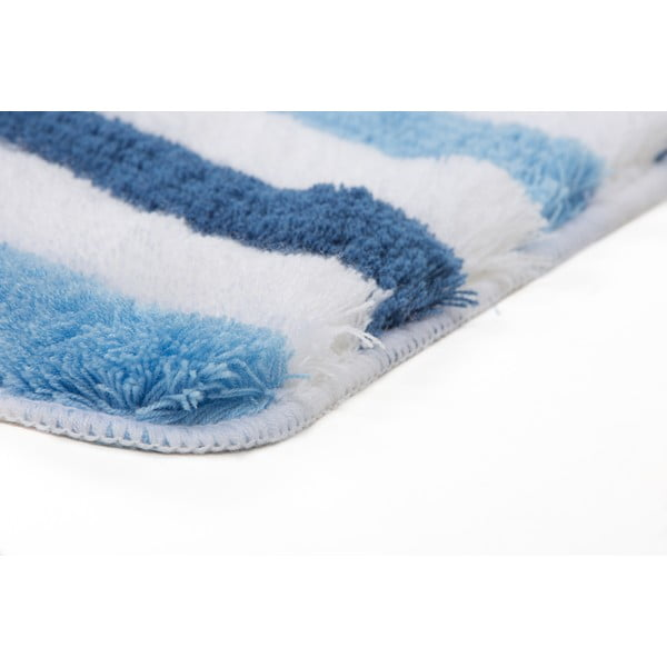 Sada 2 kúpeľňových predložiek s výrezom Lobby Blue