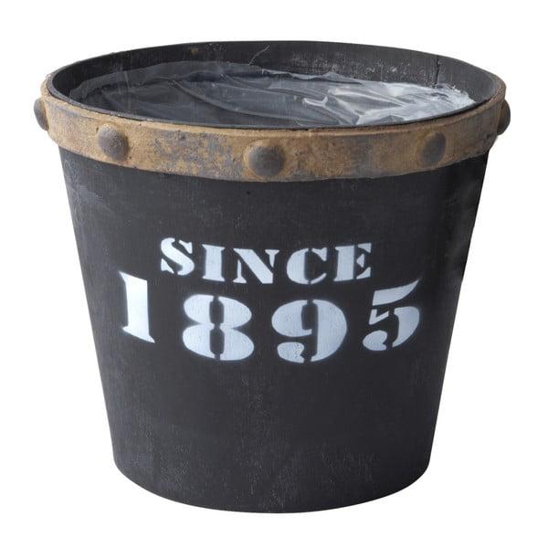 Kvetináč Since 1895 Black