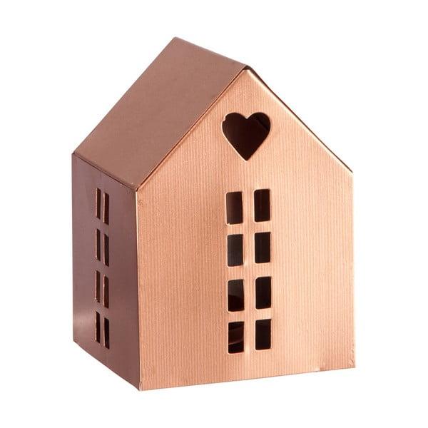 Lampáš Copper House, 14 cm