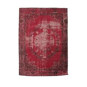 Koberec Red Chenille, 150x210 cm