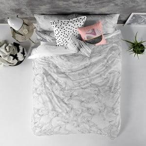 Balvnená obliečka na paplón Blanc Essence Marble, 240×220 cm