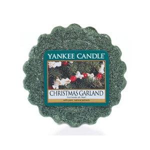 Vonný vosk do aromalampy Yankee Candle Vianočný Veniec, doba trvania vône až 8 hodín