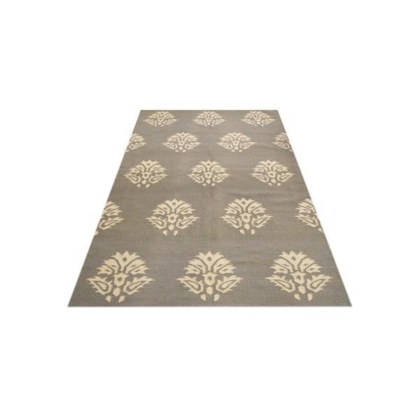 Vlnený koberec Salma Flowers, 150x245 cm