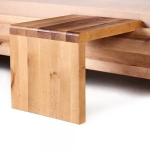 Nočný stôl z olejovaného dubového dreva Mazzivo Coob