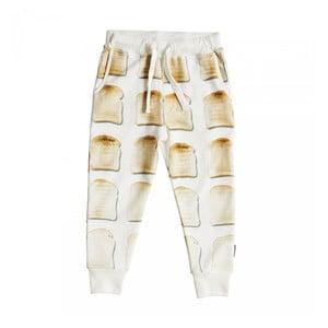 Biele dievčenské nohavice Snurk Toast, 104