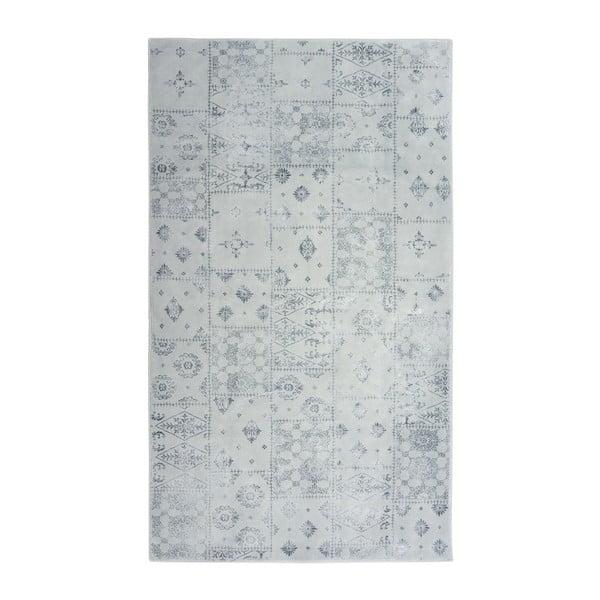 Sivý koberec Floorist Mosaic,80x300cm