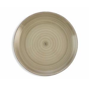 Sada 6 svetlosivých tanierov Villa d´Este Baita, ø 27 cm