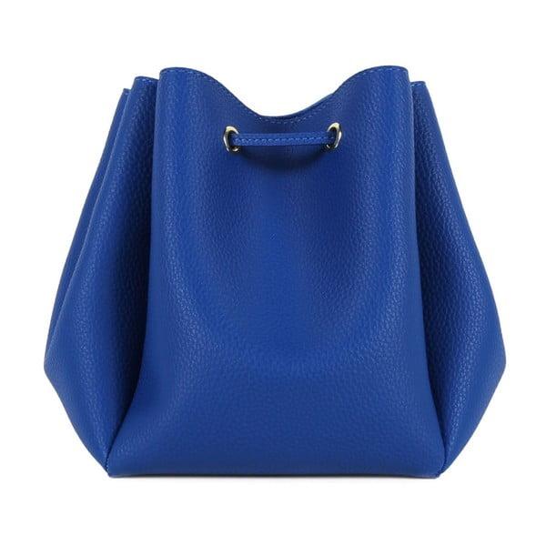 Modrá kabelka z eko kože Beverly Hills Polo Club Kate
