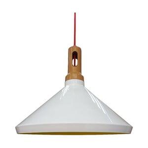 Závesné svetlo Robinson II, biele