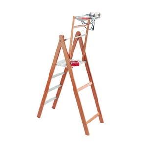 Rebrík s odkladacím priestorom z bukového dreva Valsecchi Upper