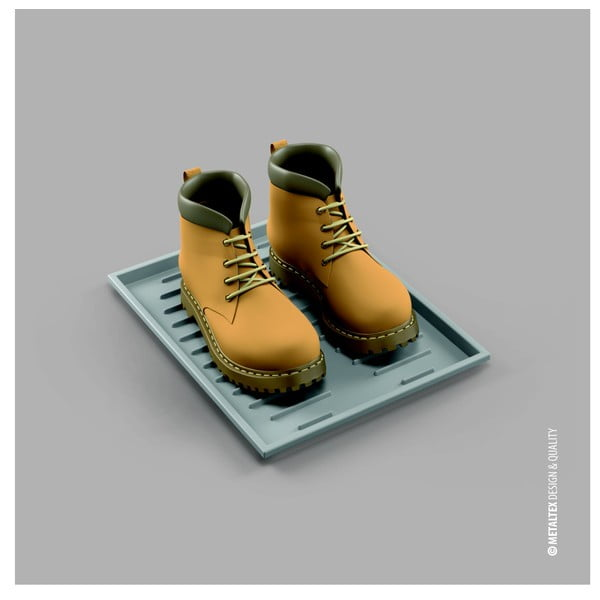Podložka pod topánky Metaltex Zapatos
